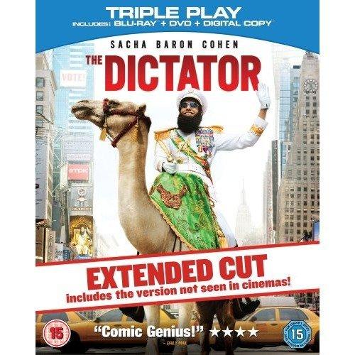 The Dictator - Triple Play (blu-ray   Dvd   Digital Copy) [region Free]