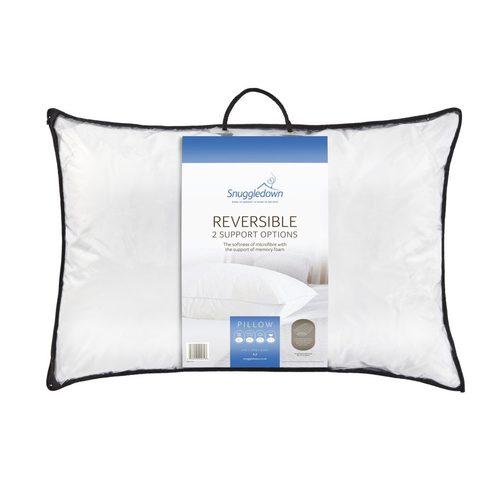 snuggledown posture perfect supersoft foam pillow