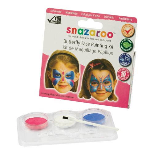 Snazaroo Butterfly Face Painting Kit | Butterfly Face Paints