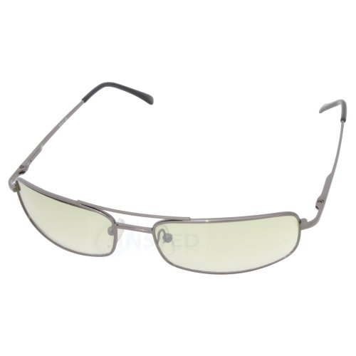 Adult High Quality Sports Wrap Around Sunglasses Yellow Lens CL037