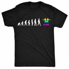 8TN Evolution of Dance - Floss - White Print Unisex-children T Shirt