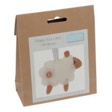 Felt Decoration Kit: Sheep