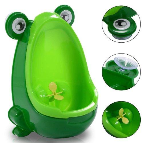 Frog Children Potty Toilet Training Kids Urinal Baby Boys Pee Trainer Bathroo sc