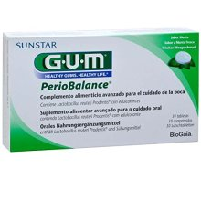 GUM Periobalance lozenges 30 pieces, pack of 3 (3x 30 pieces)