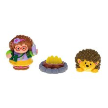 (The Explorer) - Fisher-Price World of Little People Girl, Hedgehog and Bonfire