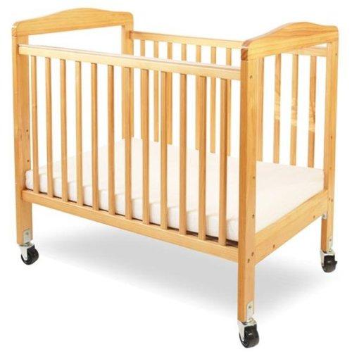 Mini & Portable Non-folding Wooden Window Crib