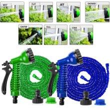 Expandable Flexible Garden Magic Water Hose Pipe Spray Gun