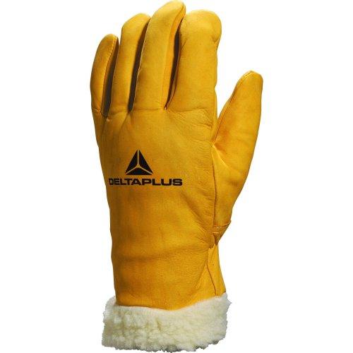 (Medium - Size 8) Delta Plus Venitex Acrylic Fur Lined Ski Gloves