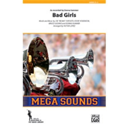 Alfred 00-40222S S Bad Girls-Mss Book