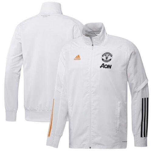 Manchester United White Presentation Jacket 2020/21