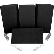 Auralex 40th Anniversary ProPanel ProKit-1 (SonoSuede, Black)