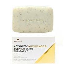 Revitale Advanced Salicylic Acid & Sulphur Scrub Treatment Soap - 80g