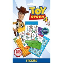 TOY STORY 4 Sticker Book 10 x Sheets with 800 Official Stickers
