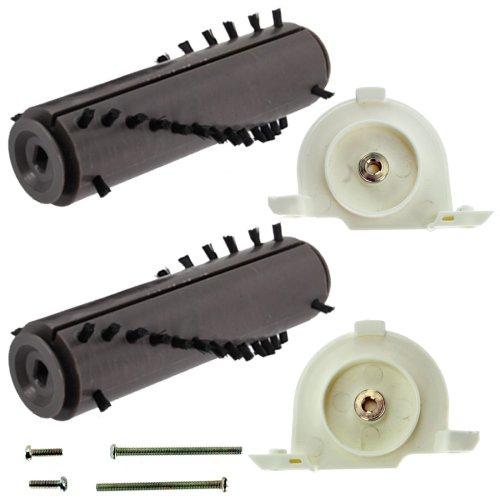 SPARES2GO Complete Brushroll + End Caps Kit for GTech AirRam DM001 AR02 AR01 AR03 AR05 Cordless Vacuum Cleaner