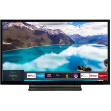 Toshiba 32LL3A63DB 32-Inch Smart Full-HD LED TV with Freeview Play - Black/Silver (2019 Model) - Refurbished