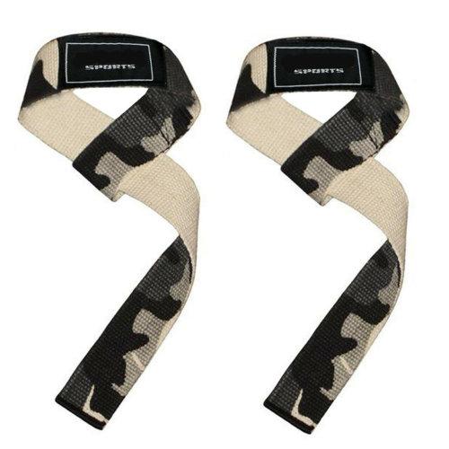 Power Hand Bar Straps Weight Lifting Straps Cotton Webbing Wrist