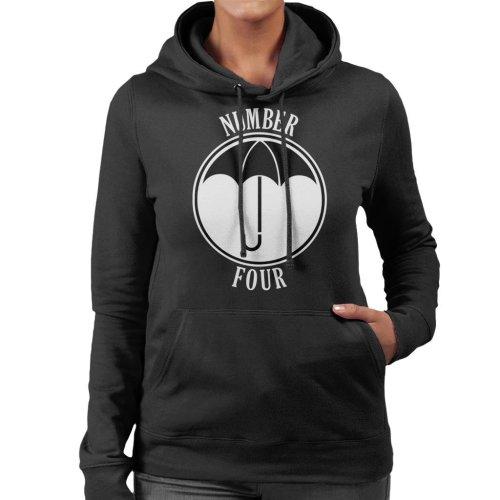 (Medium) Umbrella Academy Number Four Women's Hooded Sweatshirt
