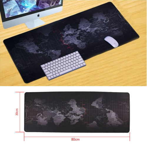 UsefulWorld Map Large Cloth Extended Rubber Gaming Mouse Desk Mat