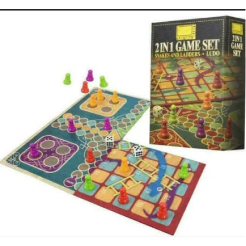 Snakes & Ladders and Ludo Folding Board