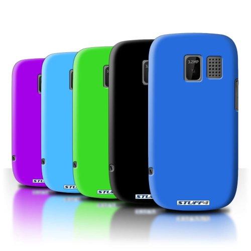Colours Nokia Asha 302 Phone Case Transparent Clear Ultra Slim Thin Hard Back Cover for Nokia Asha 302