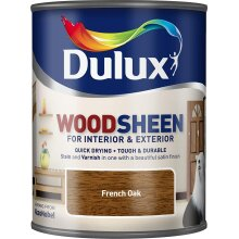 Dulux Interior & Exterior Woodsheen 750ml French Oak