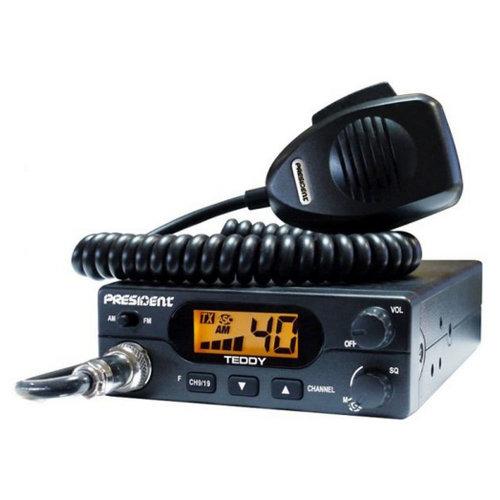 CB Radio President Teddy ASC with automatic squelch code TXMU266