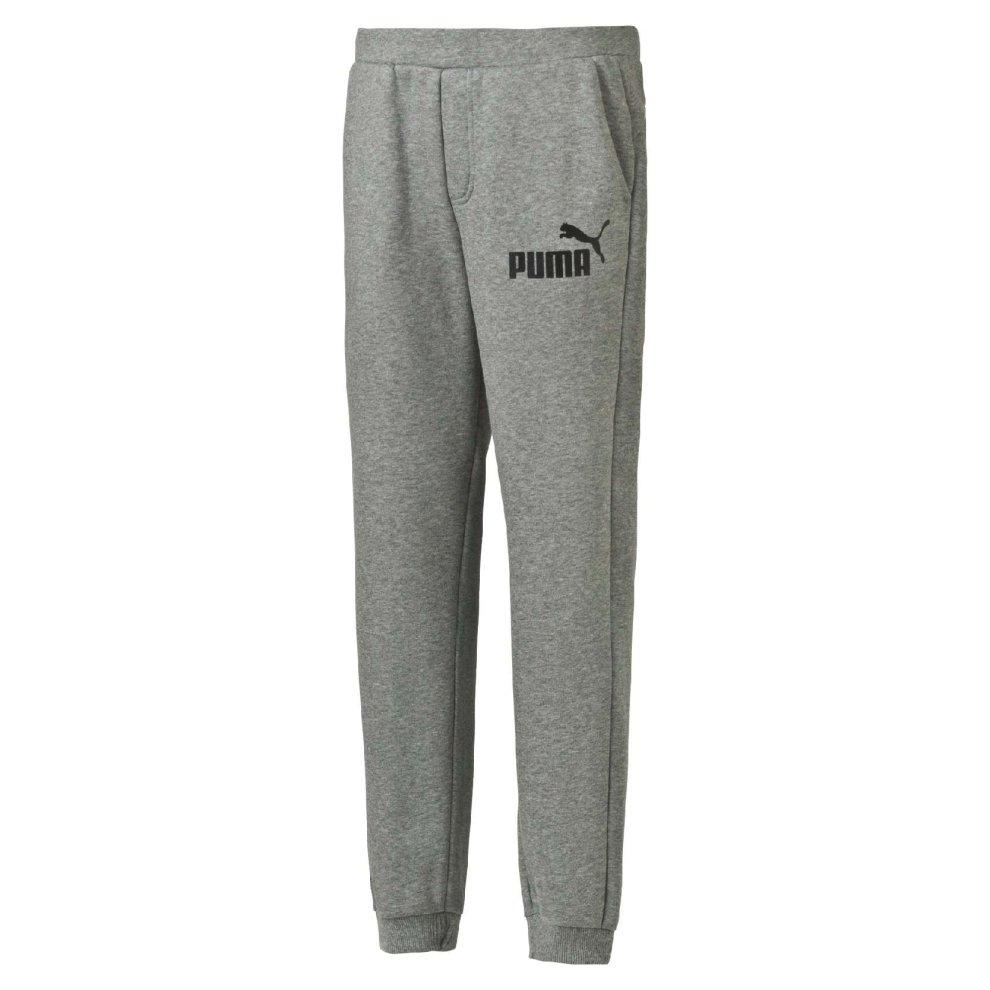 Puma Essential No.1 Kids Sweat Jogging Pant Trouser Grey
