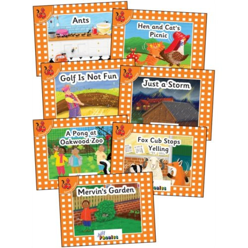 Jolly Phonics Orange Level Readers Complete Set by Van-Pottelsberghe & Louise