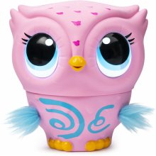 Owleez Interactive Toy with Lights and Sounds (Pink)
