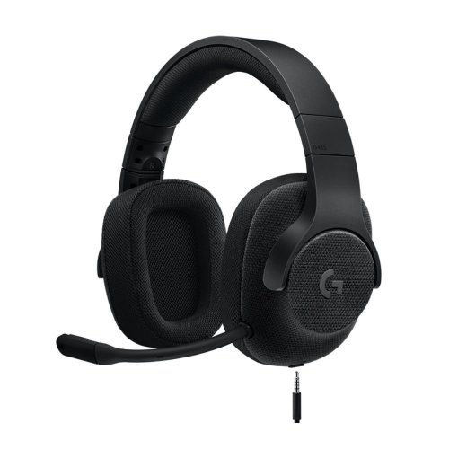 LOGITECH G433 7.1 Gaming Headset - Black, Black