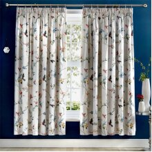 Dreams & Drapes Mansfield Floral Pencil Pleat Lined Curtains, Grey, 66 x 72 Inch