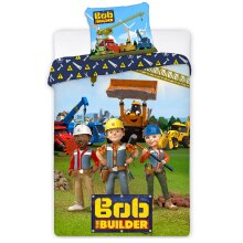 Bob the Builder Single Duvet Cover Set - European Size
