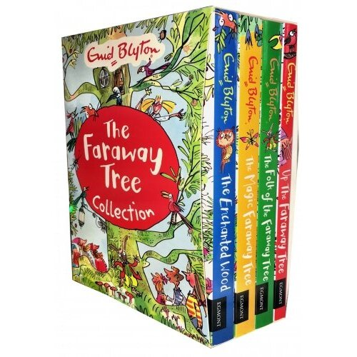 Enid Blyton The Faraway Tree 4 Books Collection Pack Set