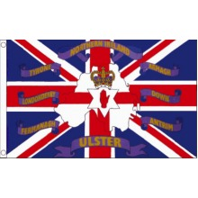 The 6 Counties of Northern Ireland 5'x3' Flag