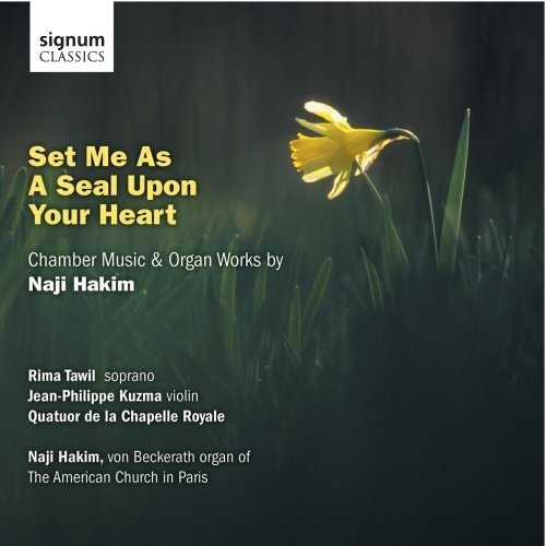 Rima Tawil (soprano) - Hakim: Set Me As A Seal Upon Your Heart [CD]