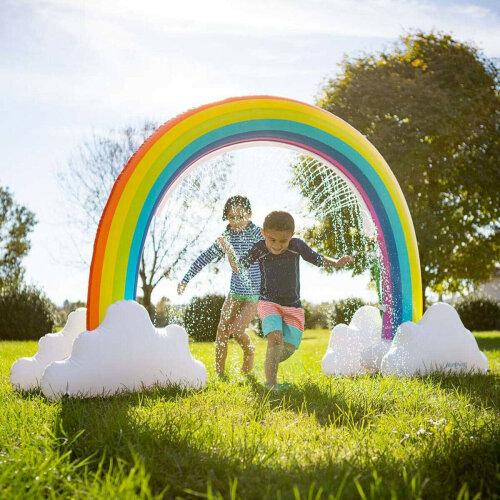 Giant Inflatable Water Rainbow Sprinkler