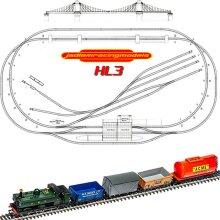 HORNBY Digital Train Set HL3 - Large Layout with Suspension Bridge