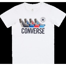 Converse KIDS White Shoe T-shirt