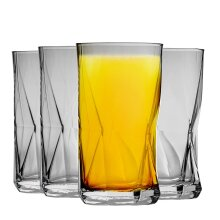 Tumbler Tumblers Glasses Drinking Glassware Cassiopea 480ml (16.25oz) - Set of 4