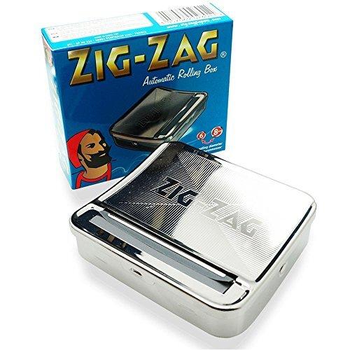 OCB 15446 ZIG-ZAG Rolling Box for Slim Cigarette Rolling Machine for the Perfect Cigarette