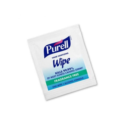 Purell Hand Sanitzing Wipes, Pack of 100