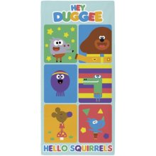 Hey Duggee 'Hello Squirrels' Beach Towel