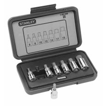 Stanley 1-89-099 Socket Wrench, Silver, Set of 7 Piece