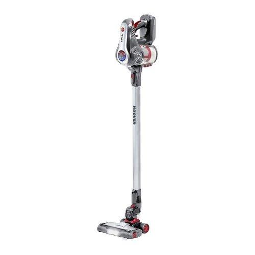 HOOVER Discovery DS22G Cordless Vacuum Cleaner - Titanium & Red, Titanium - Refurbished