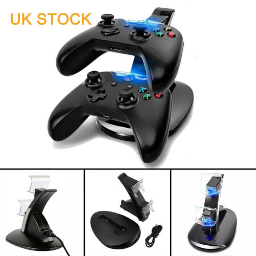 DUAL CHARGER DOCKING STATION CHARGING STAND FOR XBOX ONE CONTROLLER