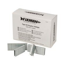 Fixman Type 90 Staples 5000-Pack  ( 5.80 x 22 x 1.25mm ) ( UK )