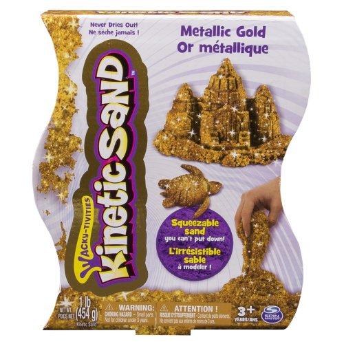 Kinetic Sand, 1lb (454g) Metallic Gold