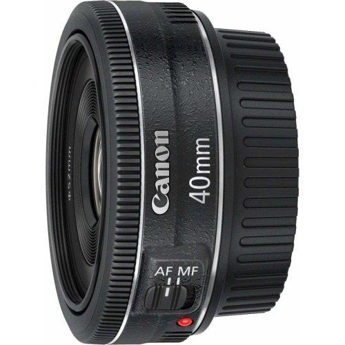Canon EF 40mm f/2.8 STM Lens - Black | Canon Lens