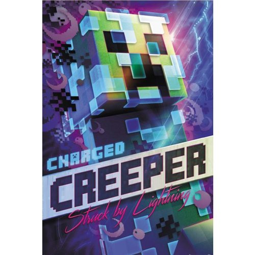 Minecraft Charged Creeper 162 Poster