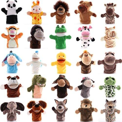 Animal Hand Puppet Plush Toy Pretend Telling Story